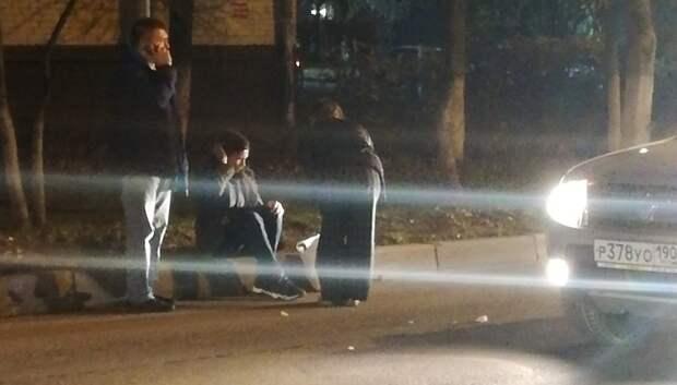 Иномарка сбила пешехода в микрорайоне Климовск