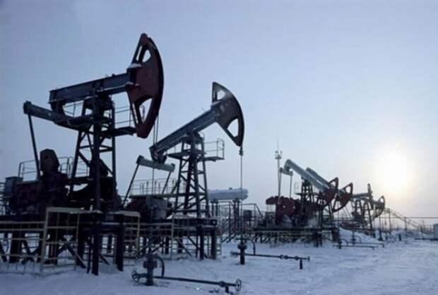 Россия добыча нефти