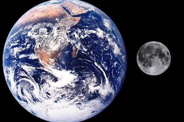 Тейя плюс Земля равно Луна?