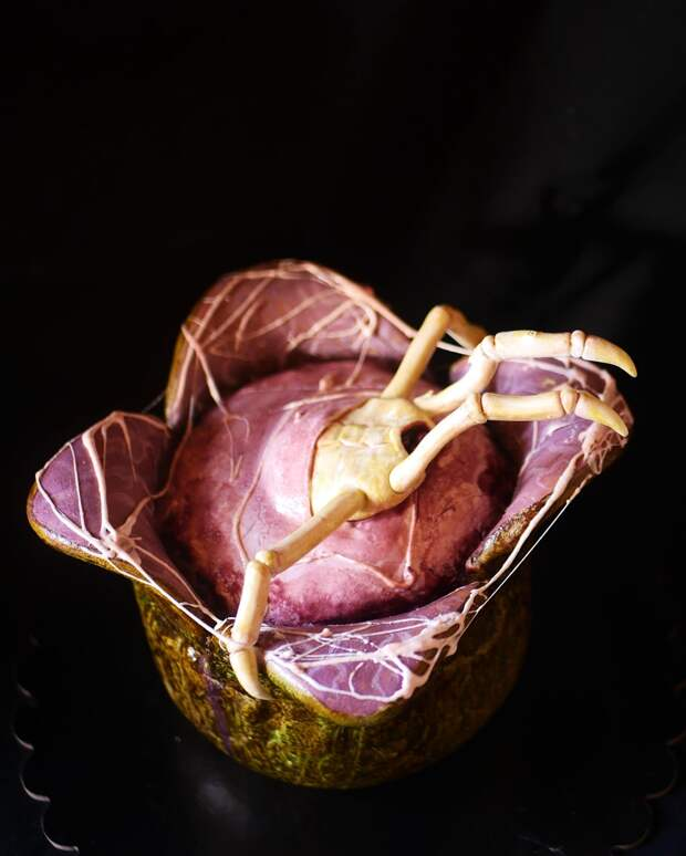 Тазик оливье, пельмешки, дохлый голубь и прочие ироничные торты кондитера из Питера