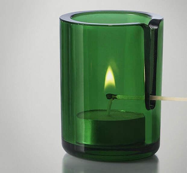 Умный подсвечник для греющей свечи