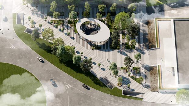 Площадь Куйбышева в Симферополе откроют на две  недели позже