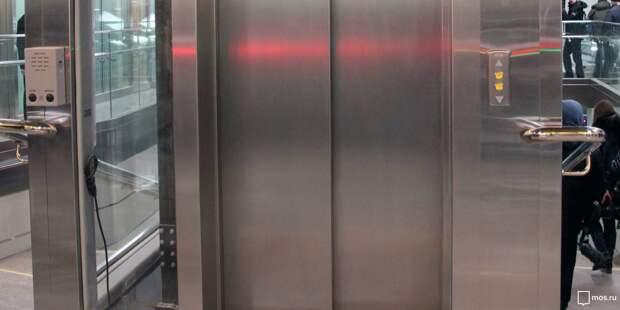 Ввести в строй лифт в надземном переходе на Ленинградке планируется в конце марта