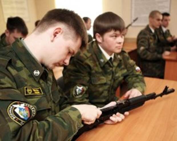Студенты получат на военных кафедрах звания рядовых и сержантов