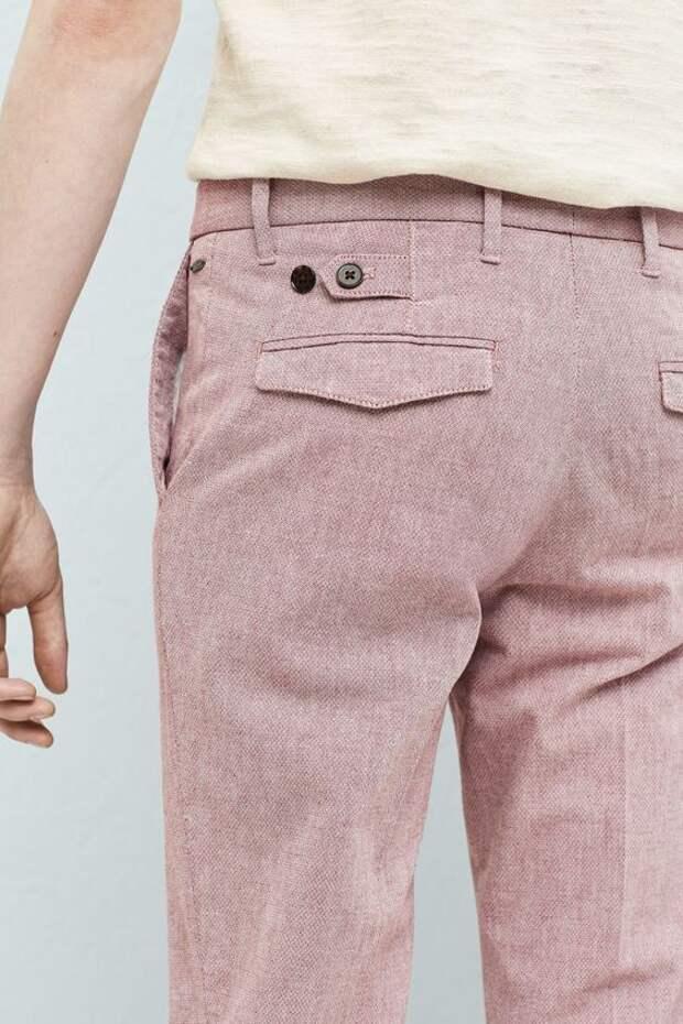 Детали мужских брюк
