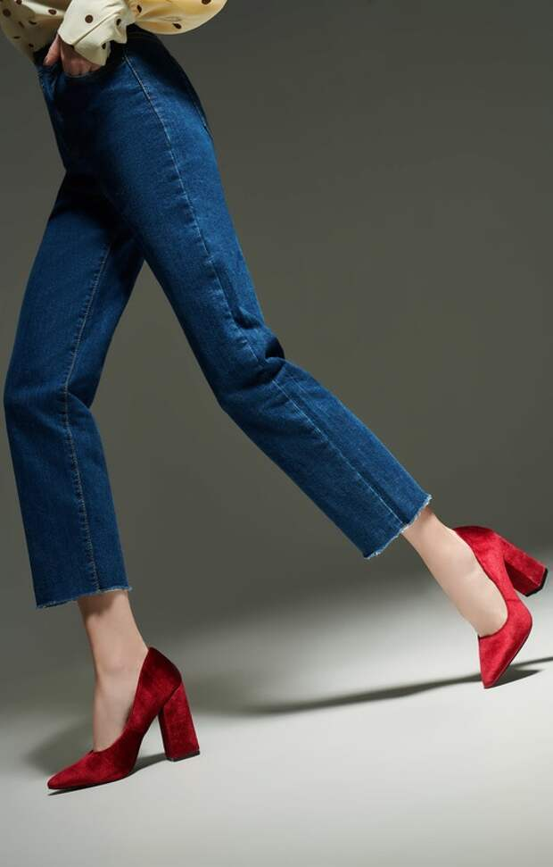 Как одеваться, чтобы ноги казались длиннее