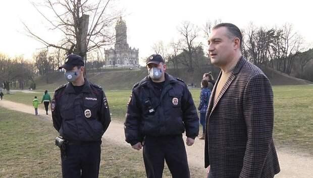 Полицейские Подольска начали проводить рейды по соблюдению режима самоизоляции