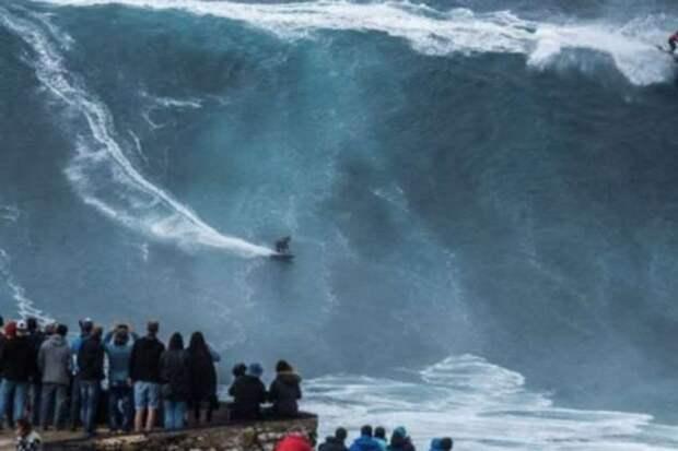 Самые большие волны, снятые на камеру