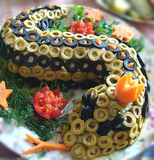 Красивые салаты