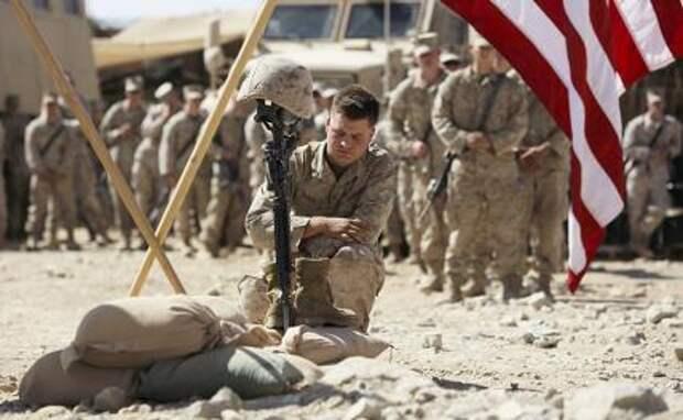 На фото: присутствие американских войск в Афганистане