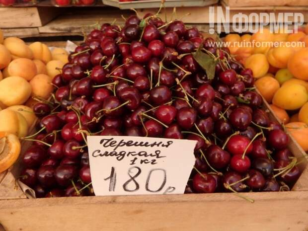 Крым и Севастополь: обзор цен на клубнику и черешню