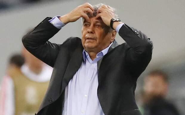Луческу подал в отставку с поста главного тренера киевского «Динамо» через 4 дня после назначения