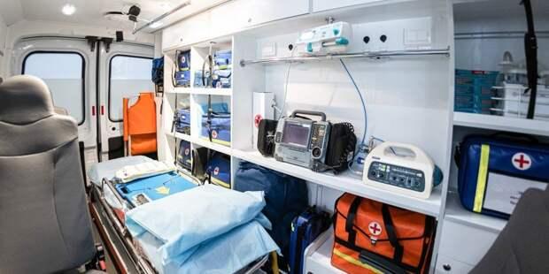 В результате ДТП на Северо-Восточной хорде пострадала женщина