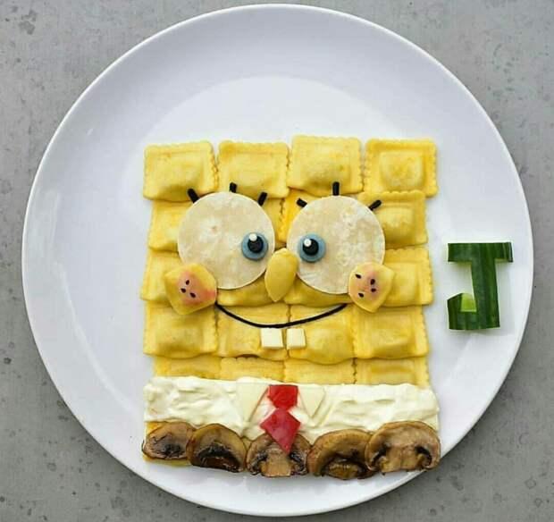 Искусство сервировки для детей (трафик)