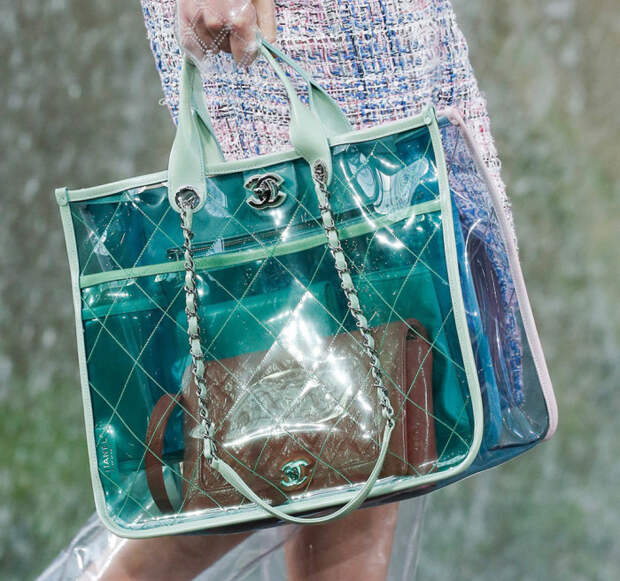 Прозрачные сумки для тех, кому нечего скрывать