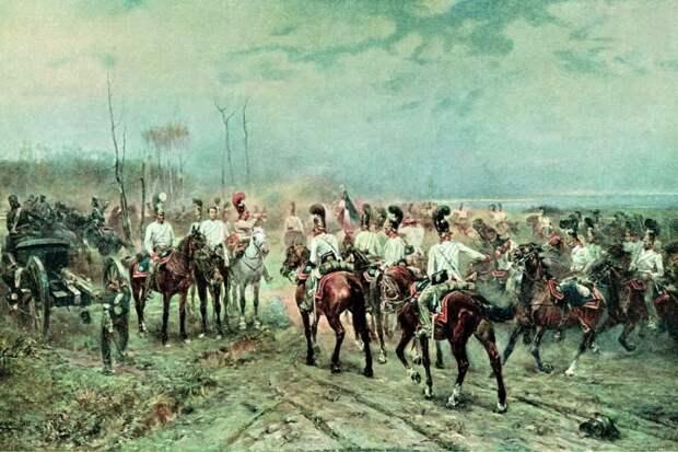 Как Наполеон восхитился русскими кавалергардами при Аустерлице