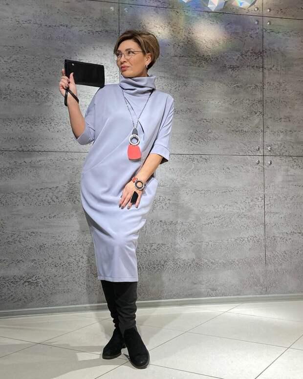 3 стройнящие модели платьев для женщин 50+