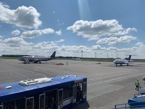 Пассажиропоток в аэропорту Ижевска с начала года снизился в 3,5 раза