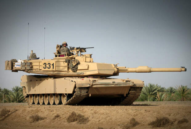 67 тонн железа и мощи – танк M1 Abrams