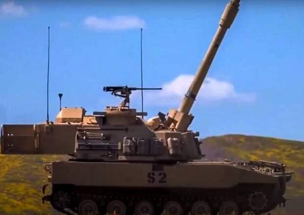 «Самые мощные самоходные гаубицы»: армия США получила новые «Паладины»