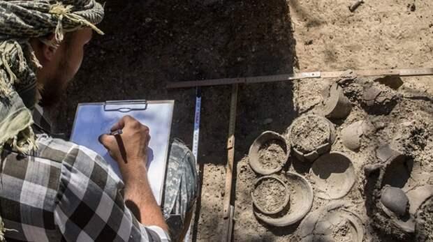 Золотые украшения аланской знати III века нашли в Крыму