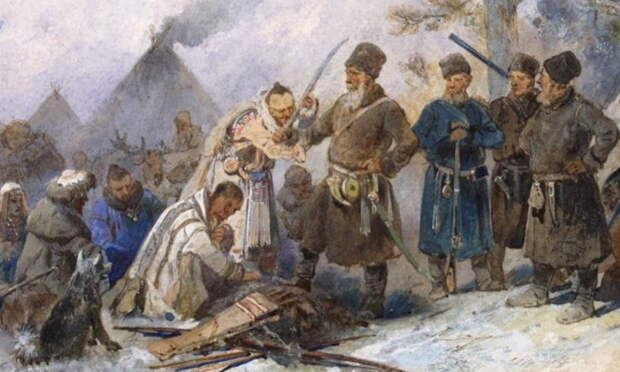 Приведение сибирских народов к присяге - Чукотский Давид против имперского Голиафа | Warspot.ru
