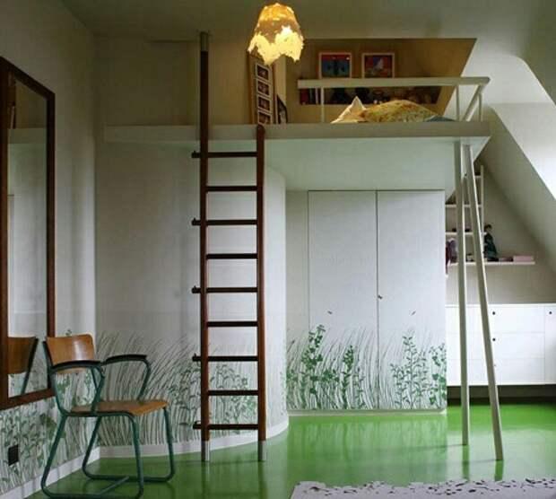 Подборка необычной встроенной мебели