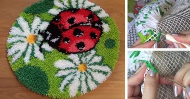 Простая в исполнении ковровая техника с китайским набором