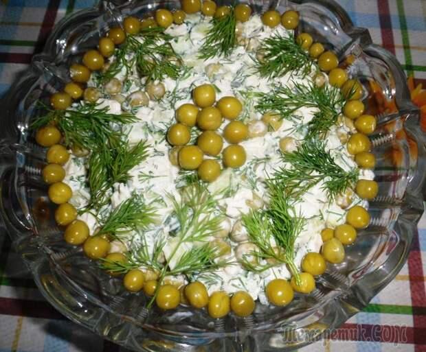 Легкий диетический салат «Леди»: и насытит и фигуру сохранит