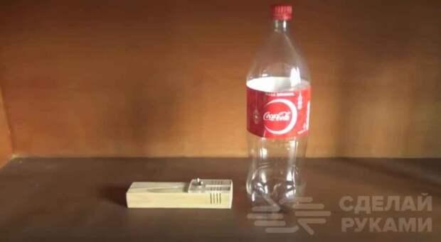 Простая приспособа для нарезки пластиковых бутылок на полосы