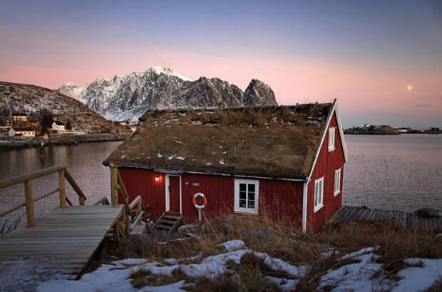 Рыбацкий домик в Норвегии
