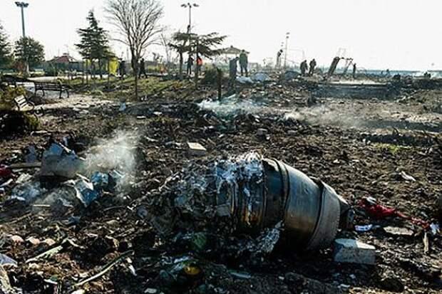 Вашингтон опасается новой катастрофы в небе над Тегераном