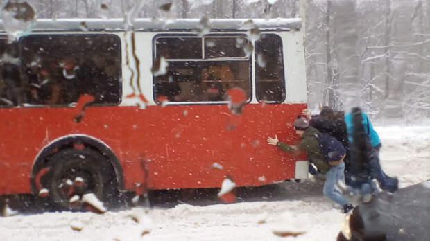 Россияне - самые сплоченные люди апрель, весна, погода, снег, юмор