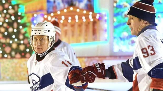 Путин не планирует участвовать в гала-матче Ночной хоккейной лиги 10 мая