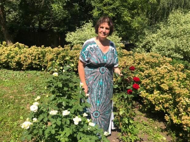 Соцработник из Алтуфьева создала сад
