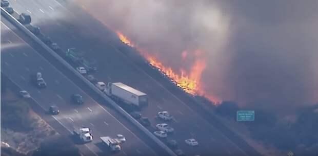 Пожары в Калифорнии, 2018 год