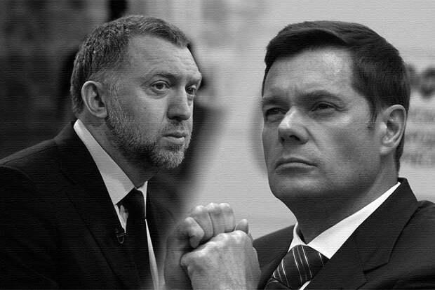 Алексей Мордашов и Дерипаска