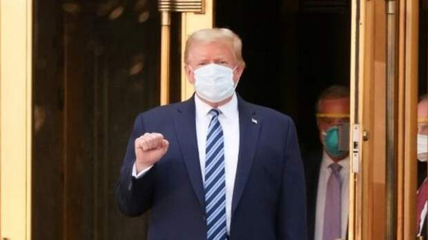 У Трампа выявили антитела к коронавирусу