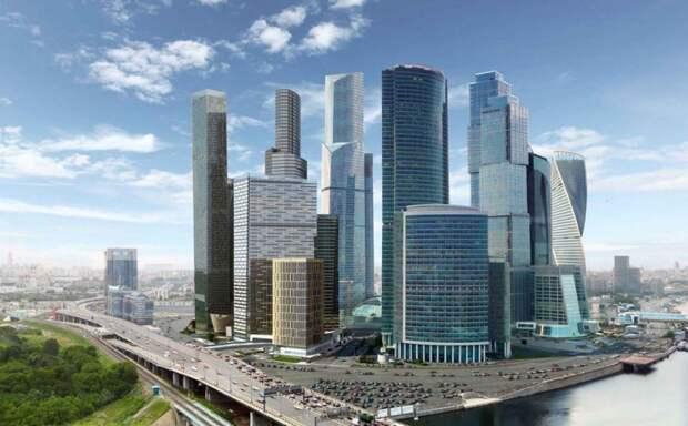Москва-сити. Фото: Mos.ru