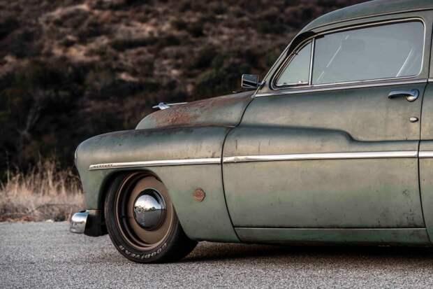 Полностью электрический Mercury Coupe 1949 с сердцем Теслы mercury, tesla, авто, олдтаймер, ретро авто, свап, тюнинг, электромобиль