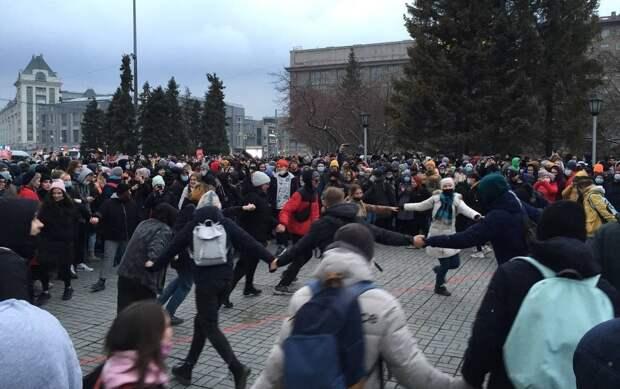 Электрошокеры и задержания - как проходит День солидарности с Навальным