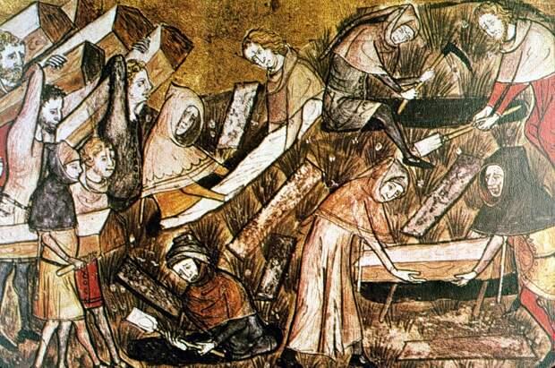 Средневековая история чумы