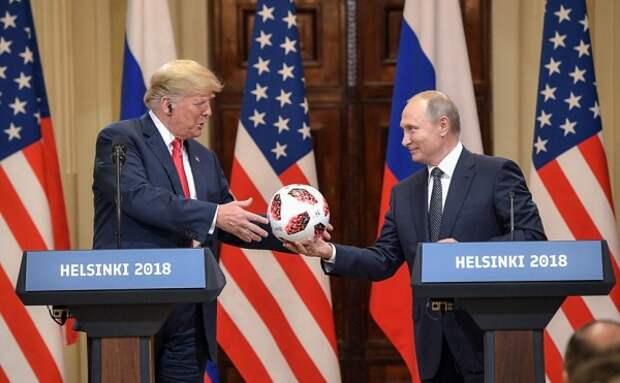 Спецслужбы США проверяют мяч Путина