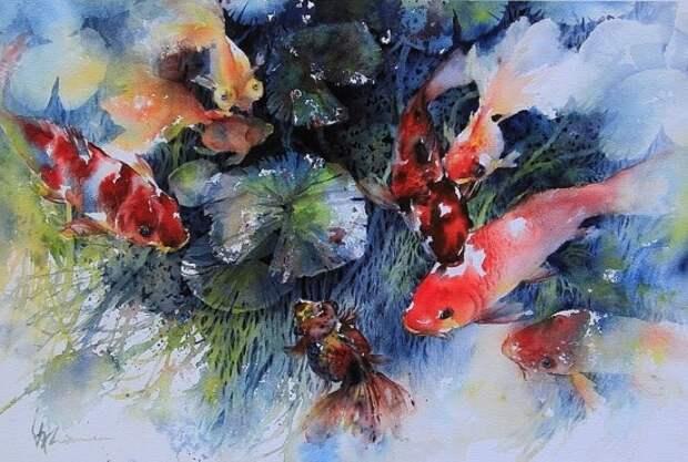 художник Lian Quan Zhen (Лиан Цюань Чжэнь) картины – 08
