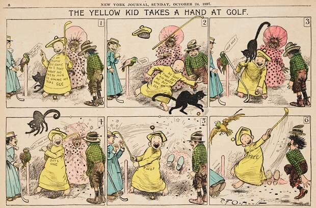 Почему бульварную прессу называют «жёлтой»?
