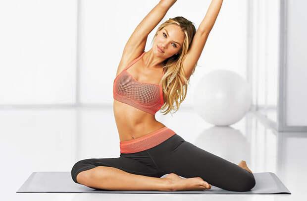 ПИЛАТЕС: Упражнения для тонкой талии.