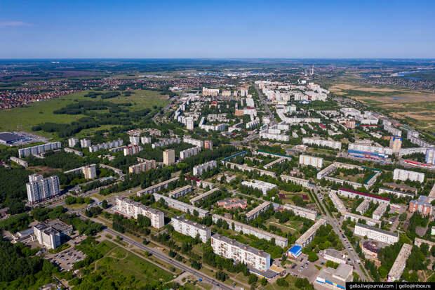 Фото Омска с высоты