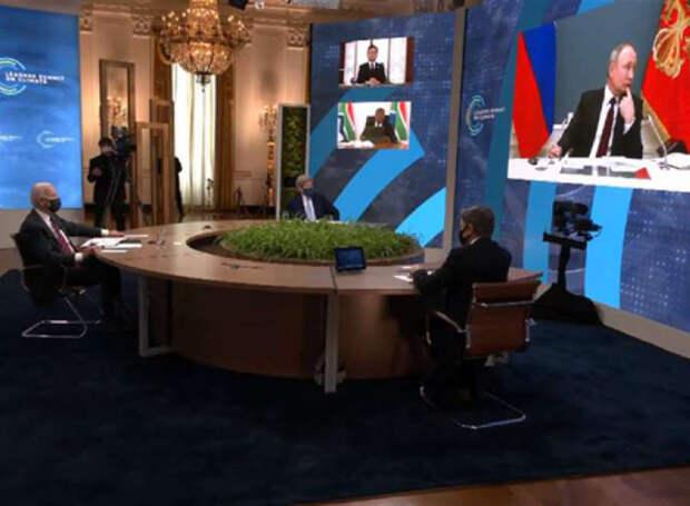 """Поставили на паузу"": ИноСМИ бурно отреагировали на конфуз с Путиным и Макроном на климатическом саммите"