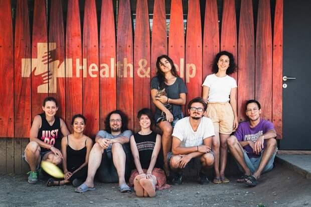 Команда волонтеров вклинике вНикарагуа.