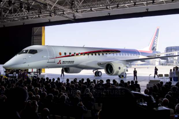 Mitsubishi MRJ90, торжественная презентация